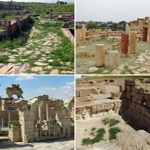The Roman sites of North Tunisia