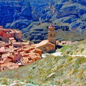 Albarracin in the Province of Teruel