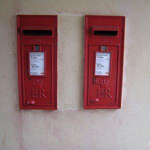 British Letter Boxes
