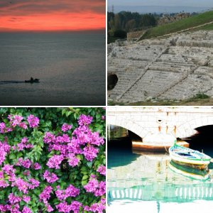 Ortigia di Siracusa (Syracuse) in Sicily : A trip in January