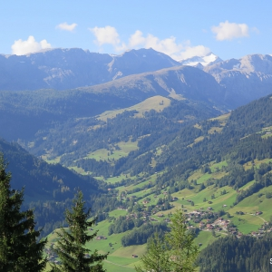 View of Lenk Valley