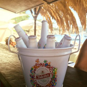Beach party drinks