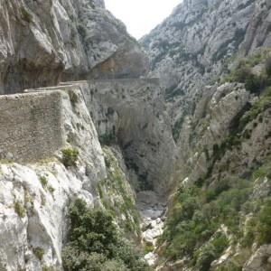 Languedoc - Gorge de Galamus