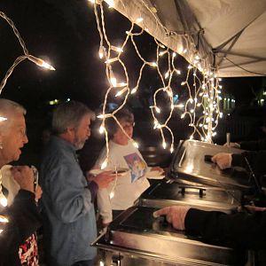 Slow Bowl 2017 - Saturday night barbecue