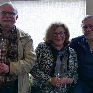 Andrew McGarrell, Marcia and David Battin