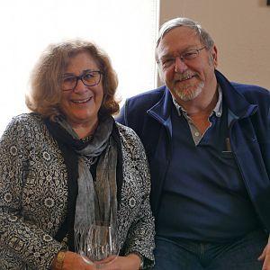 Marcia and David Battin