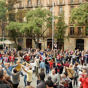 Sardana Dance-Barcelona, Spain