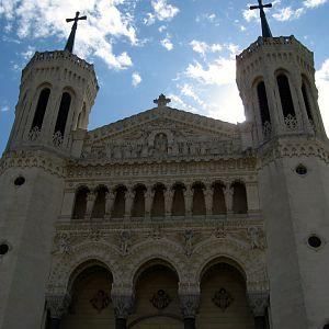 Lyon Basilica of Notre-Dame de Fourvière