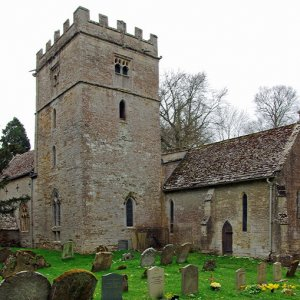 St Nicholas Church, Lower Oddington, Gloucestershire