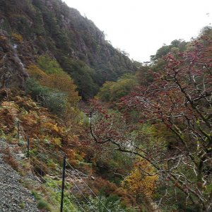 Pass of Aberglaslyn, Welsh Highland Railway