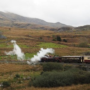 On the way to Rhyd Ddu, Welsh Highland Railway