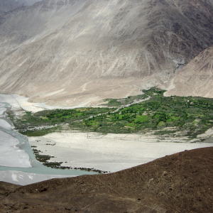 Satti in the Shyok valley