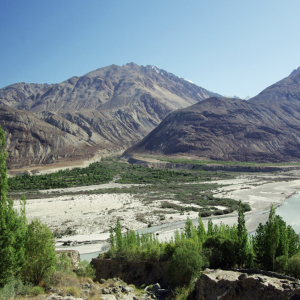 Shyok valley