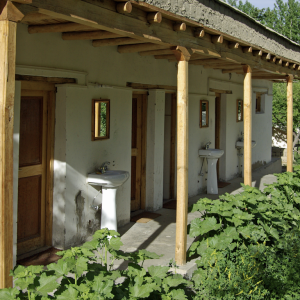 Toilet block, Nubra Organic Retreat, Hundar