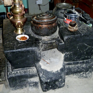 Traditional stove, metal workers' house, Chilling