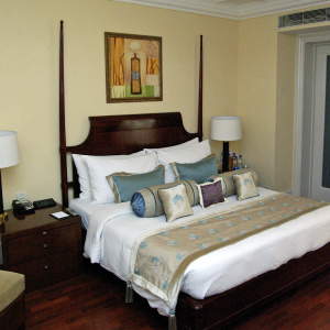 Bedroom, The Claridges Hotel, New Delhi