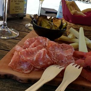 Salumi and cheese plate, El Rofolo, Venice