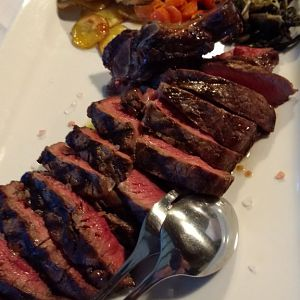 Grilled steak for two, Al Postiglione, Friuli