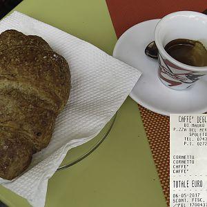 Spoleto, Caffe degli Artisti