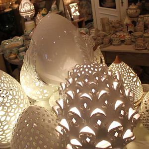 Ceramic Lamps from Grottaglie