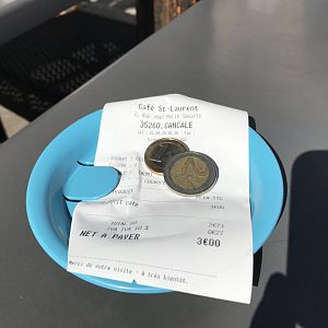 Receipts - Coffee