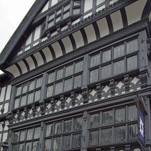 Timber frame building, Chester