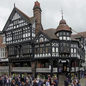 The Rows and Market Square, Chester