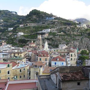 Amalfi Coast - Walking from Minori to Amalfi