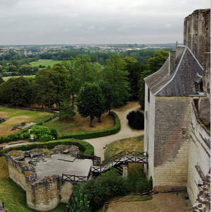 Loches Donjon southern defences