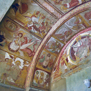 Abbey of Saint Savin - fresco in the west porch.png