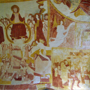 Antigny, Chapelle Ste-Catherine - Last Judgement.png