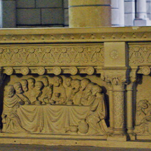 Preuilly-sur-Claise, Abbey of St-Pierre - high altar.png