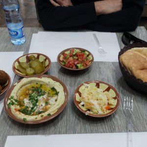 Lunch in the Muslim Quarter