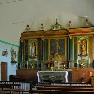 La Vinzelle, Église-St-Roch - chancel