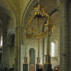 Montsalvy Abbey - chancel