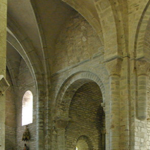 Montsalvy Abbey - north transept