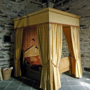 Château de Vallon - bed