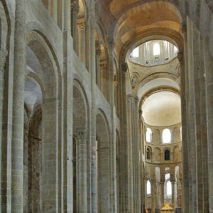 Conques, Abbey-Church of Saint-Foy - nave