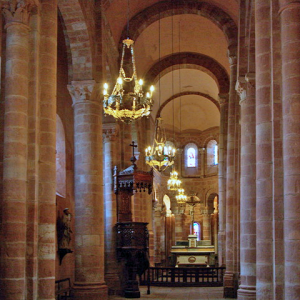 Bouzels, Church of Ste Fauste - nave