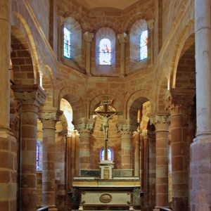 Bouzels, Church of Ste Fauste - chancel