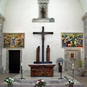 Peyrusse-le-Roc, church - chancel