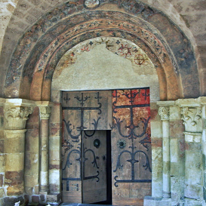 Brioude, Basilique St-Julien - south door