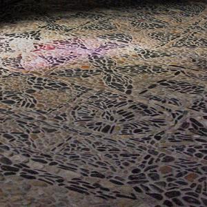 Brioude, Basilique St-Julien - nave floor