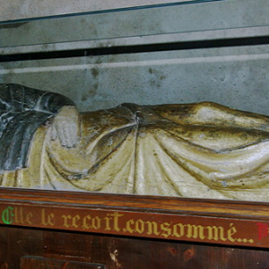 Brioude, Basilique St-Julien - La Vierge Parturiente