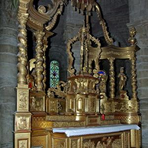 Brioude, Basilique St-Julien - high altar