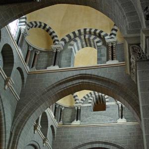 Le Puy-en-Velay, Cathédrale de Notre-Dame - crossing