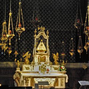 Le Puy-en-Velay, Cathédrale de Notre-Dame - high altar