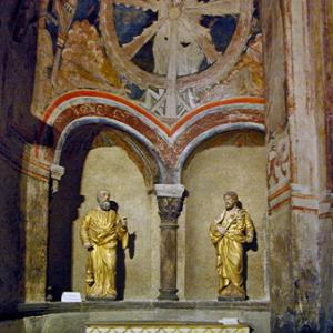 Le Puy-en-Velay, Cathédrale de Notre-Dame - north transept chapel