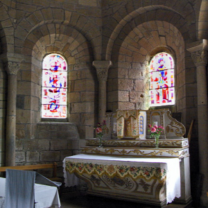 Saint-Pierre-Eynac, church - high altar