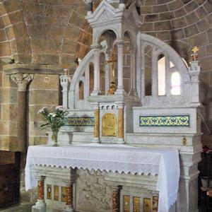 Beaulieu Church - high altar